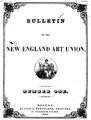 1852 Bulletin OfThe NewEnglandArtUnion no1.png