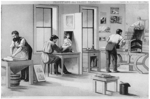1874 The Lithographer by Louis Prang