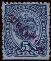 1883 5c EU de Colombia violet Popayan Mi80a.jpg