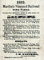 1892 Martha's Vineyard Railroad schedule.jpg