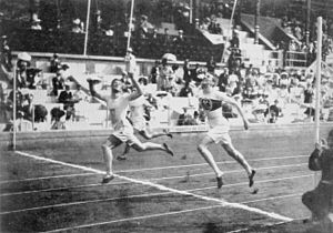 Athletics at the 1912 Summer Olympics - 400 metre final.
