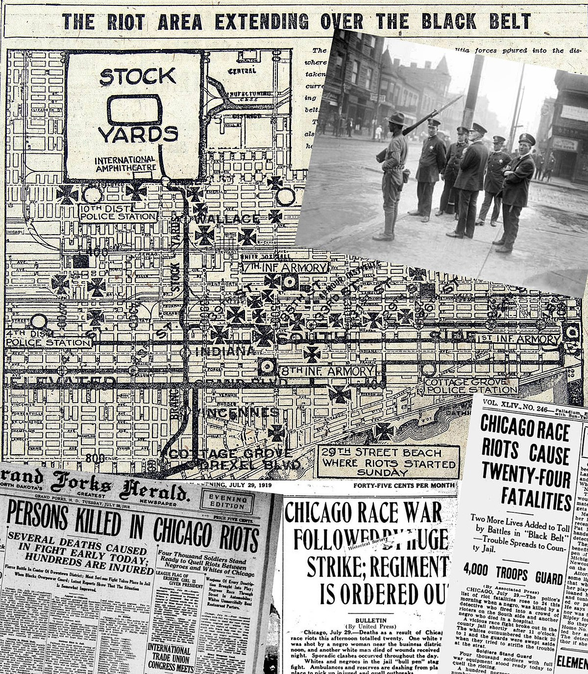 Chicago Race Riot Of 1919 Wikipedia