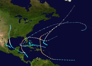 hurricane season in the Atlantic Ocean