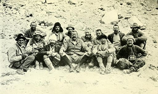 1922 Everest expedition at Base Camp