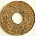 1930 East African 1 cent coin obverse.jpg