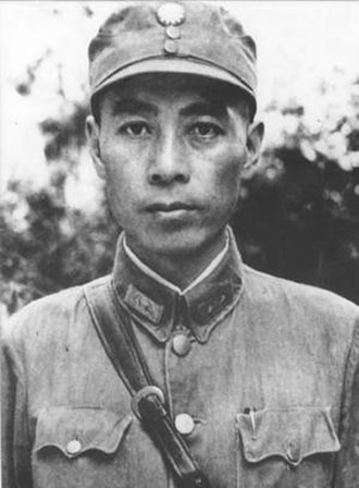 Vice Chairman of the Central Military Commission - Image: 1930s Zhou Enlai in National Revolutionary Army uniform