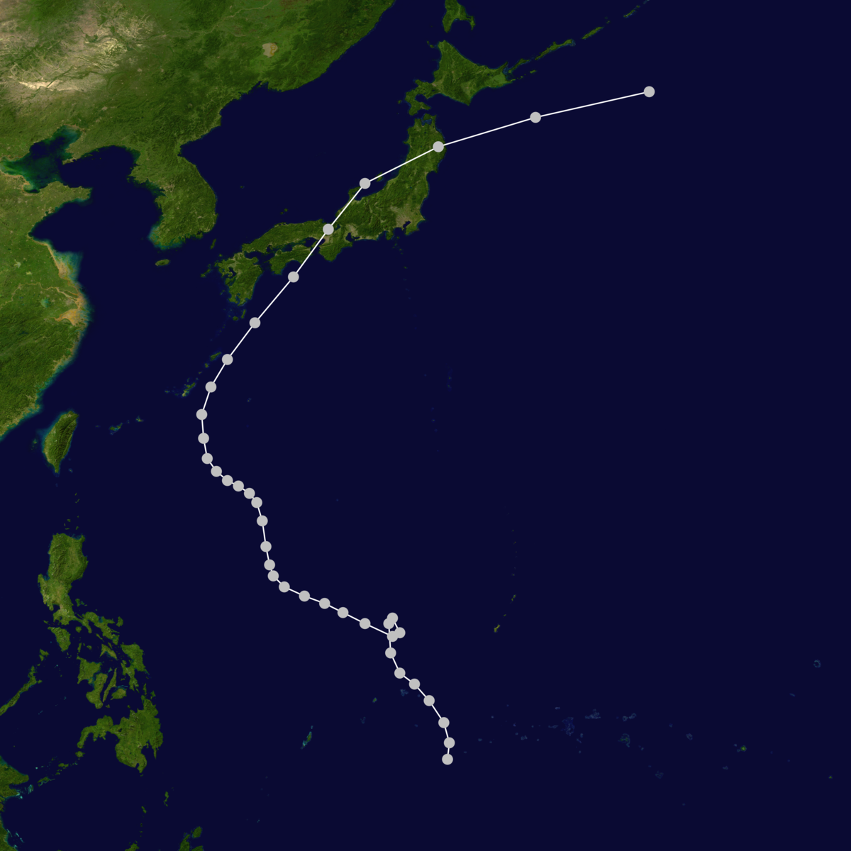 1934 Muroto typhoon track.png