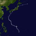 1934 Muroto typhoon track.png