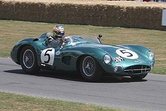 Aston Martin DBR1 - Aston Martin DBR1/2 at Goodwood Festival of Speed 2009