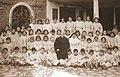 1959 Alfredo Arteaga con el 1ero basico de Escuela Parroquial.jpg