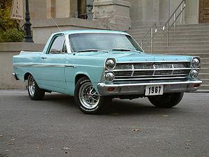 Ford Ranchero - 1967 Ford Fairlane Ranchero