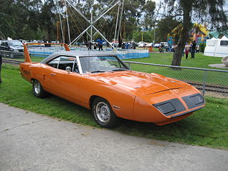 Plymouth Superbird Automobile made by Plymouth Motor Company