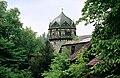 19750525180UR Burgk Schloß Burgk Wehrgang Roter Turm.jpg
