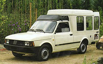 Fiat Fiorino - 1983 Fiat Fiorino Panorama