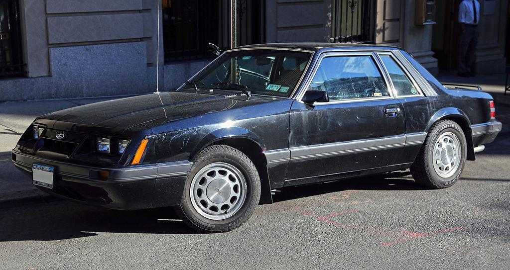 File 1986 Ford Mustang Lx 5 0 Notchback Front Left Jpg