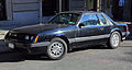 1986 Ford Mustang LX 5.0 notchback, front left.jpg