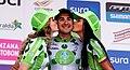 1 Etapa-Vuelta a Colombia 2018-Ciclista Juan Pablo Suarez Podio.jpg