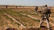 1st Bn 9th Marines patrol in Helmand Province, Afghanistan