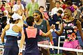 1st round US Open 2013 doubles (9634011264).jpg
