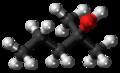 2-Methylpentan-2-ol molecule ball.png