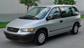 Chrysler minivans (NS) - 2000 Plymouth Voyager (no driver-side sliding door)