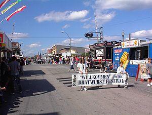 Bucyrus, Ohio - 2004 Bratwurst Festival Parade
