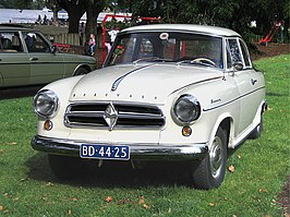 Borgward Isabella uit december 1960