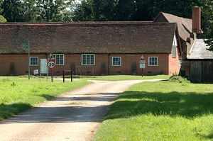 Rothamsted Manor - Buildings near the manor house