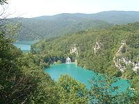 Biokovo, Dalmaçya'daki en yüksek dağ tepesidir.