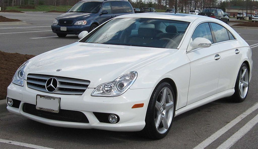 datei 2006 mercedes benz cls55 amg wikipedia. Black Bedroom Furniture Sets. Home Design Ideas