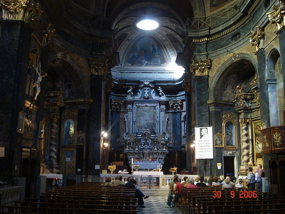 2006.09.30 St Martin-kirken bak Colline du Chateau