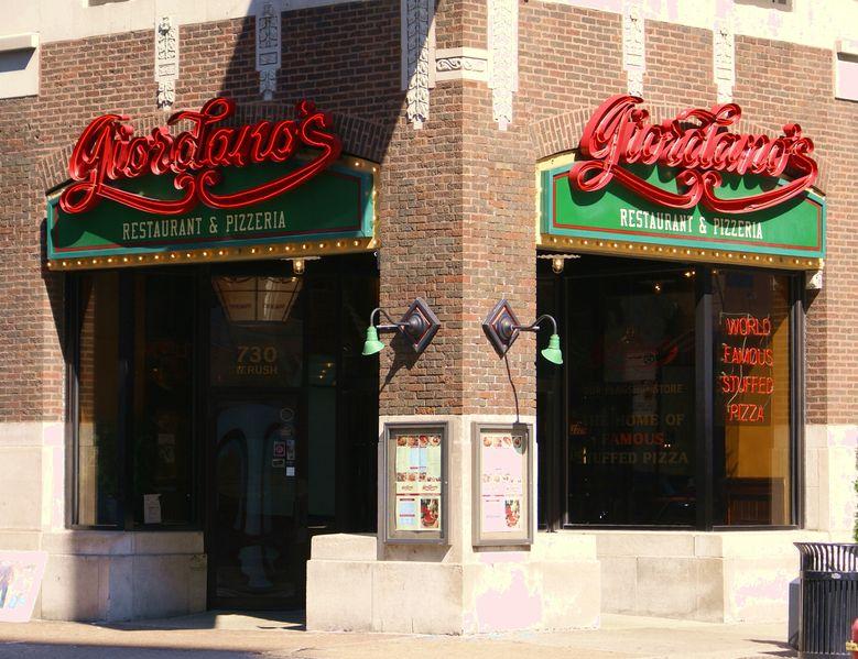 Comida italiana em Chicago