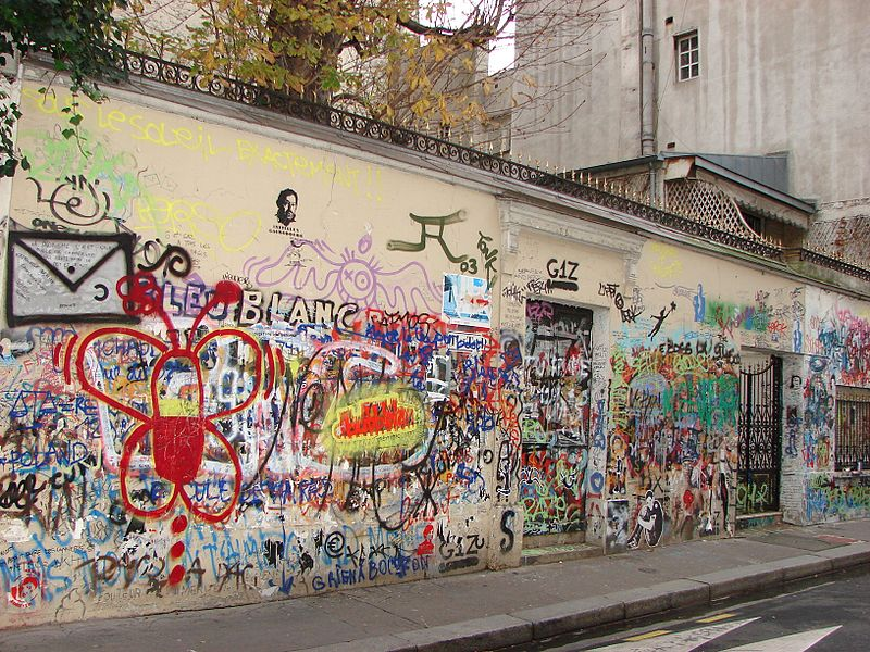 Fichier:2007 Tags Maison Serge Gainsbourg.jpg