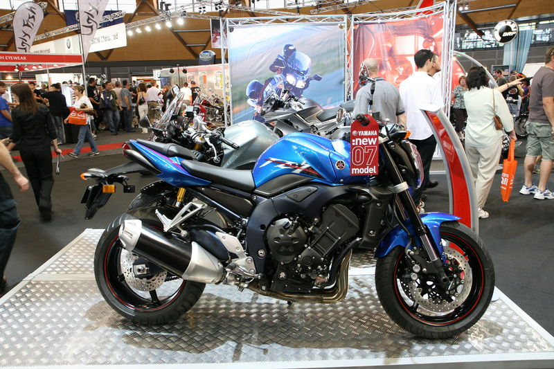 Yamaha Motorcycle Blue Spray Paint