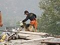 2008년 중앙119구조단 중국 쓰촨성 대지진 국제 출동(四川省 大地震, 사천성 대지진) SV400458.JPG