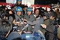 2008년 2월 11일 서울소방재난본부장 정정기, 문성준 등 숭례문 방화 사건 현장 기자회견.jpg
