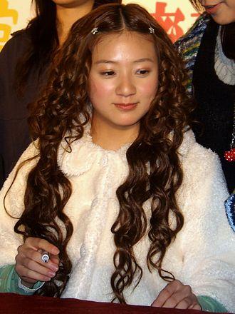 Chiaki Ito - Image: 2008TIBE Day 2 Hall 2 Mighty Media Honey and Clover Signing Chiaki Ito