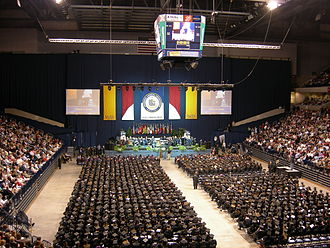 Cintas Center - Xavier Commencement