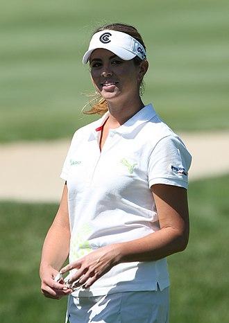 Erica Blasberg - Blasberg at the 2008 LPGA Championship