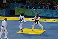 2008 Summer Olympics Taekwondo - Mildred Alango v. Wu Jingyu 3.jpg