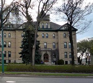 Brandon University - Clark Hall (1905–06) designed by William Alexander Elliott (architect)
