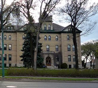Brandon University - Clark Hall (1905–06) designed by William Alexander Elliott (architect)