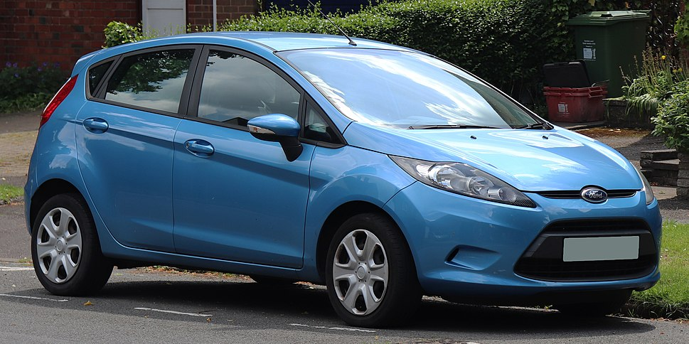 2010 Ford Fiesta Edge 1.2 Front