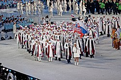 2010 Opening Ceremony - Slovakia entering.jpg