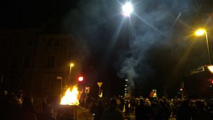 2012–13 Maribor protests - Protest on 3 December 2012