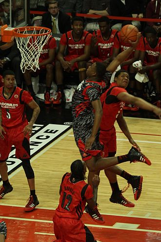 2013–14 LSU Tigers basketball team - Jarell Martin in the 2013 McDonald's All-American Boys Game