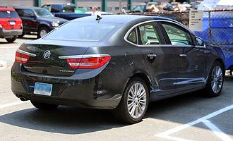 Buick Verano - Rear view (2013)