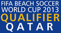 2013 FIFA Beach Soccer World Cup - Asian Qualifier logo.png
