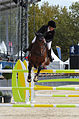 2013 Longines Global Champions - Lausanne - 14-09-2013 - Faye Schoch et Nouvelle Europe Z 6.jpg
