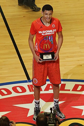 2014 McDonald's All-American Boys Game - Justin Jackson won the Jack Daly Award for sportsmanship